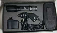 Outback Rechargeable Flashlight  W/car & Home Charger New In Box