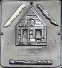 Snow House #1 of 2 Assembly Chocolate Candy Mold 1318 NEW