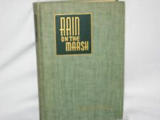 RAIN ON THE MARSH HC POETRY ARCHIBALD RUTLEDGE 1st ED 1940 236pp HAND CUT PAGES