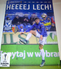 Programme collectors EL 2015.12.10 Lech Poznan FC Basel Poland Switzerland