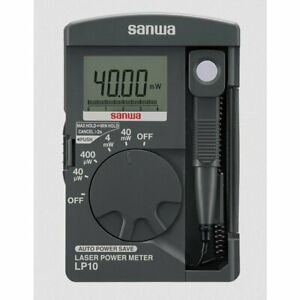 SANWA Power Meter LP10 Electric Instruments Laser Power Si Photodiode NEW F/S