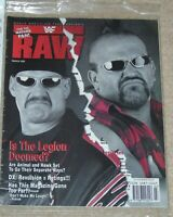 WWF MAGAZINE RAW MARCH 1998 WRESTLING THE LEGION OF DOOM COVER WITH POSTER WWE