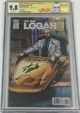 Marvel Old Man Logan #26 Professor X Cover Signed Stan Lee & Jim Lee CGC 9.8 SS