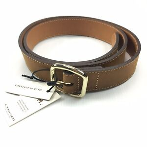 RM Williams Womens Cowhide Leather Vintage Style Hip Belt Size 40 Made In Aus