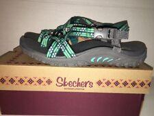 Store Return - Womens 8 Skechers Women's Reggae Loopy Sandal