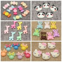 125 Flatback Resin Cute Animal Candy Cabochons Scrapbooking Various Wholesales