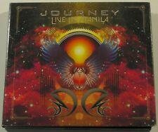 Journey Live In Manila 2xCD & DVD Set OOP Rare Rock NM-