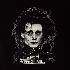 FREE SAME DAY SHIPPING Brand New EDWARD SCISSORHANDS Johnny Depp Shirt LARGE