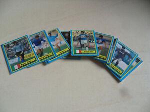 Lotto 17 figurine micro cards Vallardi! Cartonate! Ottime!!