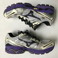 Mizuno Wave Inspire 8 Running Shoes Womens Sz 6.5 EU 36.5 Purple Stability EUC!