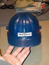 Vintage Metal Construction Hard Hat