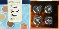 Bare Escentuals Sun Proof Fun 4 pc Eyecolor Kit Retail Value $56