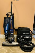 Kirby Avalir 2 Bagged Upright Vacuum Cleaner w/Attachment Set & Shampooer