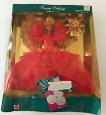 New Other Barbie Doll Happy Holidays 1990 Special Edition #4098 Collectible