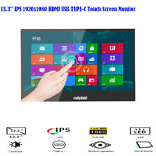 13.3 inch IPS 1080P USB Type-C USB-C Ultra Touch Screen Portable Monitor Display