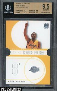 2004-05 SkyBox LE Rare Form #10 Kobe Bryant Die-Cut BGS 9.5 GEM MINT w/ 10