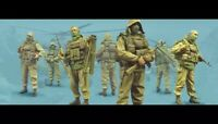 1/35 4pcs/set Resin Figure Model Kit Stalkers Soldiers Unassambled Unpainted