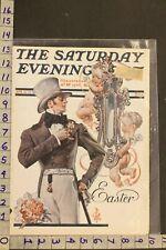 1925 Holiday Easter Baby Angel Romance Love Leyendecker Art Cover Sa68