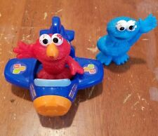 Sesame Street 123 Plane with Elmo and Cookie Monster