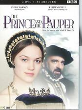 2 DVD BOX - THE PRINCE AND THE PAUPER - BBC SERIES ENGLISH / NL  region 2