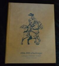 Calvary Christian School - Coldwater, Mississippi MS- 1995 Yearbook Challenger