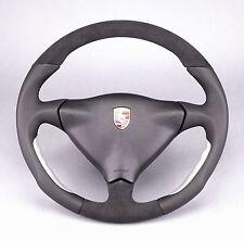 PORSCHE CARRERA 911 996 BOXSTER 986 EXCLUSIVE ALU-DESIGN ALCANTARA LEDER LENKRAD