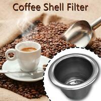 Stainless Steel Refillable Reusable Coffee Capsule Filter for Nespresso
