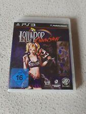 Lollipop Chainsaw PS3 PlayStation 3 Video Game Neuwertiger Zustand
