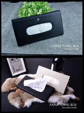 Car Auto Clip Sun Visor Paper Towel Napkin Tissue Box Holder Bag BEIGE for B.M.W