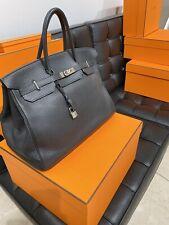 HERMÈS Iconic Women's Bag Handbag Togo Leather Birkin 40 Sac Shoulder