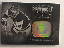 2016-17 Black Diamond Chris Kunitz Championship Rings 16/17