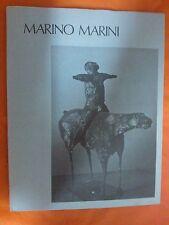 LIBRO MARINO MARINI - I MAESTRI DEL NOVECENTO - SADEA SANSONI 1968