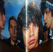 THE ROLLING STONES   BLACK AND BLUE  G.C. LP ITALY 1976