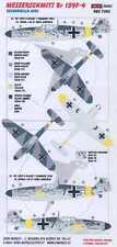 KORA Decals 1/72 MESSERSCHMITT Bf-109F Spanish Escuadrilla Azul