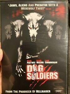 Dog Soldiers region 1 DVD (2002 action horror movie)