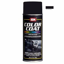 SEM Color Coat System 15013 Landau Black Aerosol Vinyl Spray Paint 12OZ Can