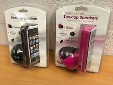 VIVITAR TUNE LOUNGE DESKTOP SPEAKER IPOD IPHONE DOCKING NEW YOU CHOOSE