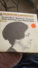 """Alicia De Larrocha """"Paginas Celebres Para Piano"""" Vol. 3 Hispa Vox # HH-10-278"""
