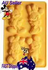 Mickey Minnie Mouse Disney Silicone Silicon Cake Chocolate Mould Mold Fondant