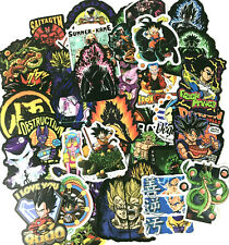 100pc Dragon Ball Z GT Super Laptop PS4 XBOX Phone Decal Character Sticker Pack