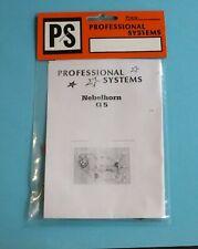 Bausatz Nebelhorn G 5 von PS Professional Systems, neuwertig, in OVP