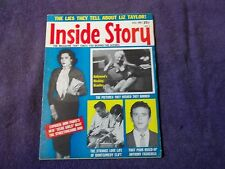 INSIDE STORY VOL 8#3  MAY 1961=FACTS ABOUT PEOPLE,THE NEWS &THE WORLD WE LIVE IN