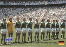 Fußball Weltmeisterschaft 1986 - DEUTSCHLAND zweiter Platz + BigCard #273 +