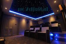 Twinkle stars effect fiber optic light kit decoration night light RGBW mix size