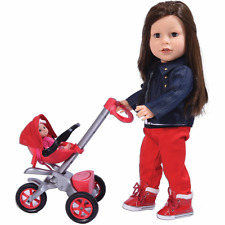 Bye Bye Baby Doll Stroller Play set for 18 inch Dolls