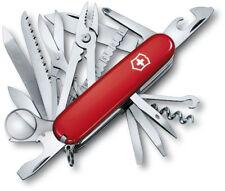 Red Victorinox SwissChamp Swiss Army Pocket Knife Multi-Tool Rare Folding