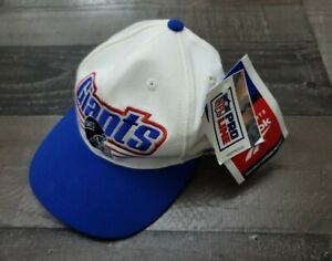 Vintage 90s Reebok NFL Proline NY Giants Snapback Hat Cap New with tags