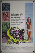 THE SWEET RIDE FF ORIG 1SH MOVIE POSTER MICHAEL SARRAZIN JACQUELINE BISSET(1968)