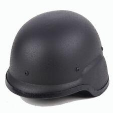 US SWAT Airsoft Tactical M88 PASGT Steel Helmet Black
