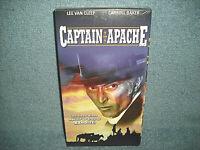 CAPTAIN APACHE - VHS - LEE VAN CLEEF - CARROLL BAKER - BRAND NEW SEALED